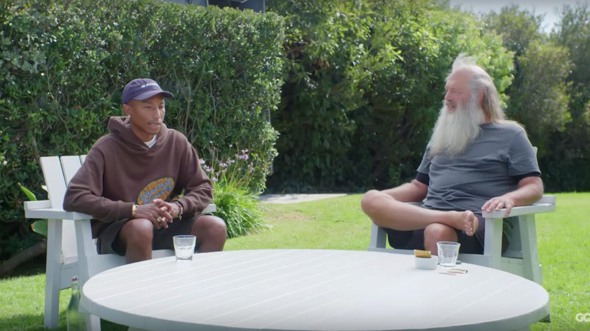 Pharrell x Rick Rubin: epic conversation entre les deux producteurs