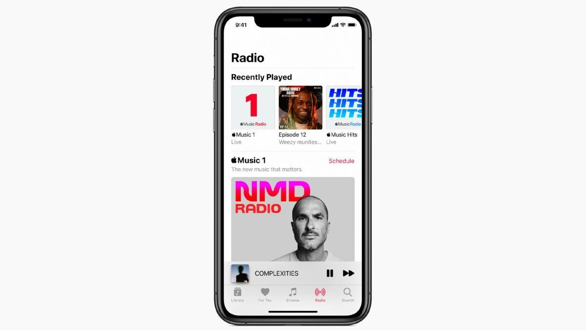 Apple Music transforme son offre radio, les artistes maintenant au premier plan