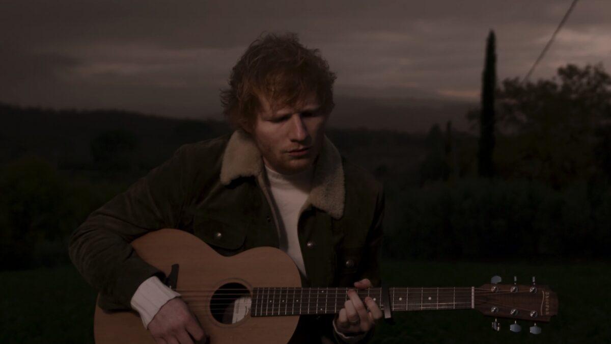 Ed Sheeran lance une nouvelle chanson, Afterglow