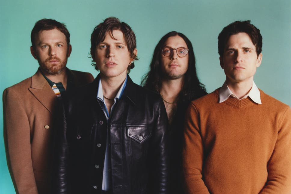 Le groupe rock Kings of Leon lance son 8e album, When You See Yourself
